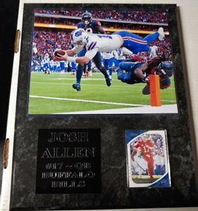 Josh Allen - Buffalo Bills plaque - New Lower Pricing!!