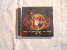 "Styx ""One With Everything"" 2006 cd Live W/Orchestra Frontiers Rec. NEW Sealed"