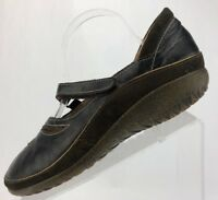 Naot Matai Comfort Casual Walking Leather Mary Jane Flats Womens 41,10.10.5 Brwn