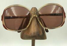 Vintage Don Von Furstenberg 1979 Viva 281 Nude Transparent Butterfly Sunglasses