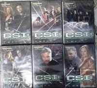 6 DVD Serie CSI:Cime scene investig Quarta Stagione VOL 1-6 Come Nuovo