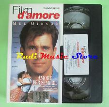 film VHS cartonata AMORE PER SEMPRE Mel Gibson FILM AMORE DEAGOSTINI (F83)no dvd