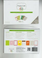 Project Life SEASONS Mini Kit~Cute Cards!~100 cards~Fast Ship! Really Nice!