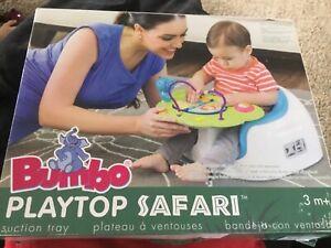 Baby Entertainment Bumbo Playtop Safari Activity Center Baby Toy New