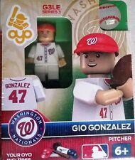 Gio Gonzalez OYO Washington Nationals MLB Mini Figure NEW G3