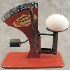 Cyclone Poultry Egg Scale ~ Evaluates Fresh Eggs ~ Country Farmhouse ~