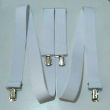 Hosenträger extra starke Clips 35mm H-Form elastisch Hosen Träger Damen Herren