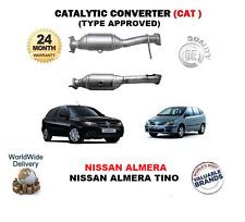 PARA NISSAN ALMERA 1.5 1.8 TINO 1.8 NUEVO CATALIZADOR CONVERTIDOR CATALÍTICO