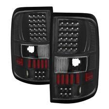Ford 04-08 F150 F-150 Black LED Tail Brake Lights Left & Right Set