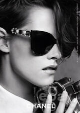 Kristen Stewart 1-page clipping June 2015 ad for Chanel - sunglasses