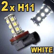 2x Super  White H11 Driving Fog Light Bulbs 18-SMD.
