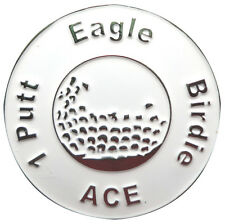Great Expectations White Golf Ball Marker - Package of 2