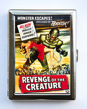 Revenge of the Creature Cigarette Case Wallet Business Card Holder horror movie