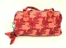 Kipling - Ladies Red Fabric Handbag with Diamante Accents - Thames Hospice