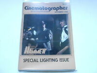 NOV 1982 AMERICAN CINEMATOGRAPHER magazine (UNREAD) HAMMETT