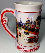 Walt Disney World Park Scene Vintage Beer Stein Mug Cup Collectible Mickey Mouse