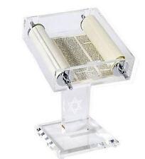 Torah Scroll in clear case - Messianic Jewish interest!  Yeshua!