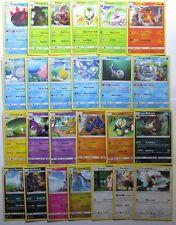 Complete SUN & MOON Base Set Uncommon Character Pokemon Cards Set