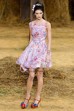 Chanel 10P Spring 2010 Pink Flower Colored Cocktail Dress 40 Wedding $14,000