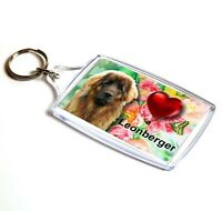 Leonberger Keyring  Dog Key Ring Leonberger Dog Gift Xmas Gift Stocking Filler