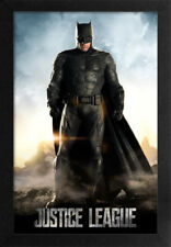 BATMAN DC JUSTICE LEAGUE 13x19 FRAMED GELCOAT POSTER SUPERHERO DC COMICS GIFT!!!