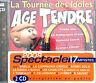 Compilation 2xCD Age Tendre... La Tournée Des Idoles Vol.4 - France (M/M)