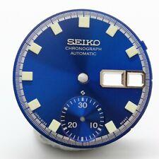Dial for Vintage SEIKO Bruce Lee Chrono 6139-6010 6139-6011 6139-6012 Blue