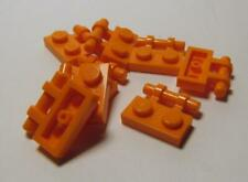2540 LEGO Parts~(8) Plate, Modified 1 x 2 w Handle on Side ORANGE 2540