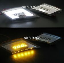 SCION FR-S 13-17 SUBARU BRZ TOYOTA 86 GT86 LED light side marker lamp-Clear