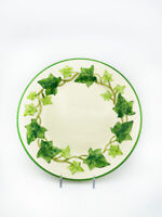 Antique Ivy American Franciscan Ware Dinner Plate. 1939-1949. CA.