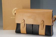 Authentic HUNTING WORLD Shoulder Bag Black w/box Free Shipping 925f02