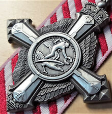 TONED WW2 AUSTRALIAN BRITISH AIR FORCE CROSS MEDAL REPLICA ANZAC AFC
