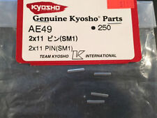 PIN RICAMBI KYOSHO AE49 250 2mm X 11mm SM1 5PEZZI GENUINE PARTS