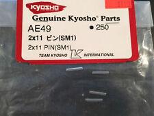 PINES RECAMBIO KYOSHO AE49 250 2mm X 11mm SM1 5PEZZI GENUINO PIEZAS