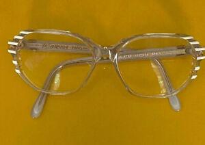 Yves Saint Laurent Damen Brille Brillenfassung Vintage 60-70er Galatee Tr