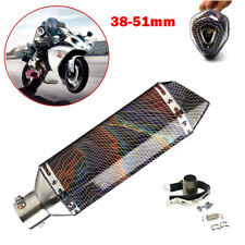 38-51mm Universal Motorcycle Exhaust Muffler Pipe for Cross-country Motorbike