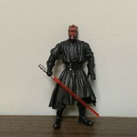 """Rare Star Wars Power of the Force Darth Maul With Lightsaber 3.75"""" Figure Toy"""