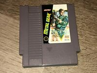 Metal Gear Nintendo Nes Cleaned & Tested Authentic