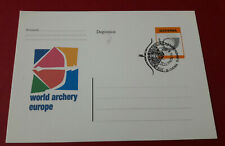 Field Archery European Championships Rogla 12.9.2005 postal card Slovenia