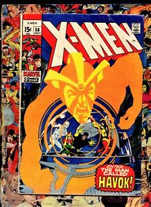 X-MEN  #58 Marvel Comic Neal Adams cv & art 1st Alex Summers as Havok