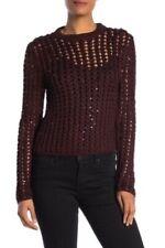 NEW ALLSAINTS Womens Alyse Embellished Knit Sweater Jumper Size MEDIUM $268 NWT