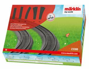 Marklin 23300 HO My World Plastic Track Extension Set