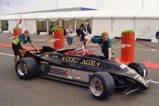 PHOTO  SILVERSTONE 08 CLASSIC TEAM LOTUS WHEEL OUT THE INFAMOUS F1 LOTUS 88B-1 F