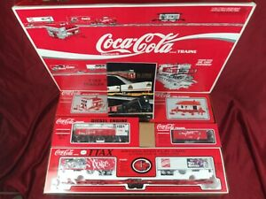 K-Line Coca Cola TTAX Tractor Trailer Train Set Vintage O Gauge NEW IN BOX