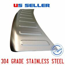 MERCEDES ML SERIES CHROMEREAR BUMPER SILL COVER PROTECTOR STEEL W164 2006-2011