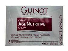 Guinot Âge Nutritif Crème Visage 47.3ml/50ml Plume Authentique Exp 09/21