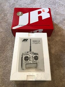 JR X9303 2.4 A/S Transmitter w/DSM 9 Ch Mode 2 New In Box Airplane Drone Remote