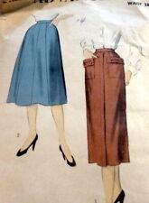 LOVELY VTG 1950s SKIRT ADVANCE Sewing Pattern 16/34