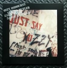 "Ozzy Osbourne ‎""Just Say Ozzy"" clear/pink vinyl 2019"