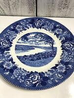 OXBOW BEND - Ohio River Overlook LEAVENWORTH, Indiana JONROTH UK China Plate